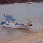 アクアダイブ コホロの船