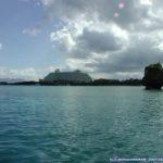 ナカユクイの海上風景