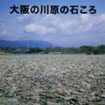 大阪の川原の石ころ