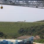 AWSから見える白浜空港