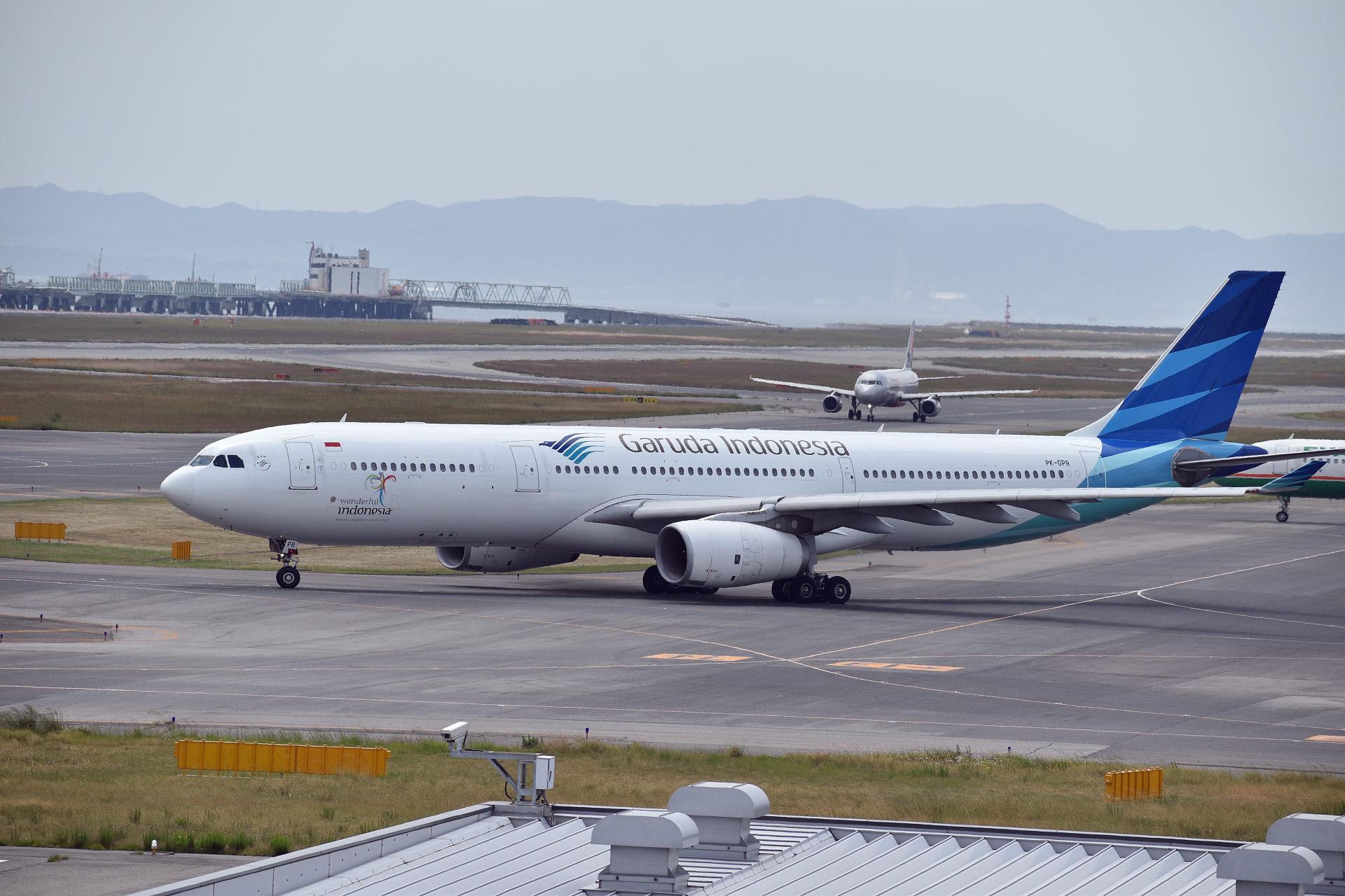 ガルーダ・インドネシア航空 PK-GPR